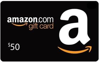 Amazon 50 giftcard